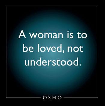 Ne értsd, hanem szeresd a nőt – Osho