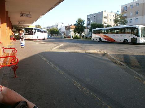 Sopron Busz vég