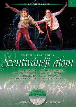Híres Operettek könyvsorozat 12. kötet - Szakcsi Lakatos Béla Szentivánéji Álom