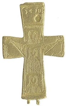 bronzkereszt