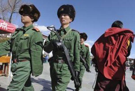 tibet kínai megszállásának védelme