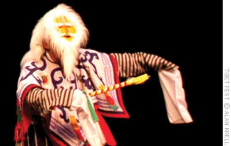 tibeti fesztivál