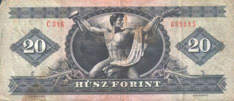 20 forintos bankjegy:)