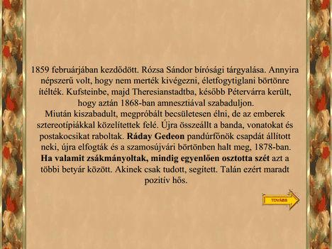 Híres Magyar Betyárok !!