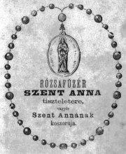 rózsafüzér-Szent Anna