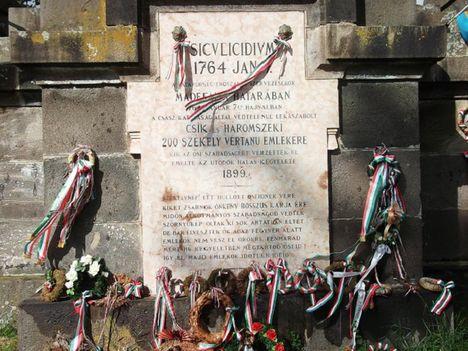 A madéfalvi veszedelem emlékműve