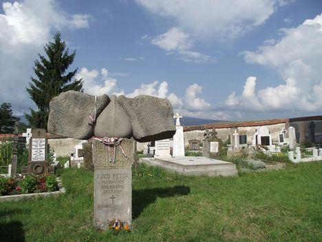Csíkrákosi római Zöld Péter sírja
