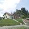 Gyimesbükk vasúti őrháza, a Rákóczi-vár tövében