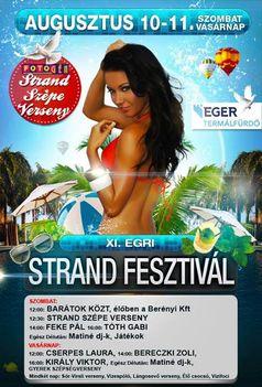 XI. Egri Strand Fesztivál