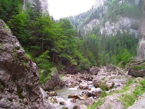 Békás-szoros Lapos-patak