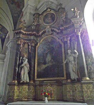 Gyergyószentmiklós A szent kereszt oltára
