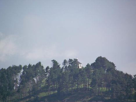 Gyergyószentmiklós Csobot-hegy Szent Anna-kápolna