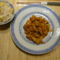 Kinai édes-savanyu csirkemell, tojásos rizs