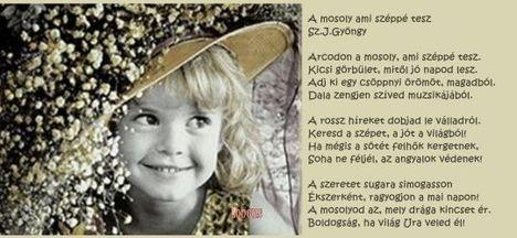 A mosoly ami széppé tesz:Sz.J.Gyöngy