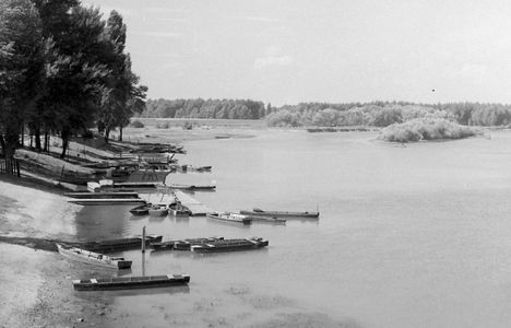 Gönyűi látkép 1925