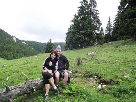 Nagy-hagymáson Laczkó Zoli és neje Gyöngyi