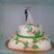 Esküvői emeletes torta
