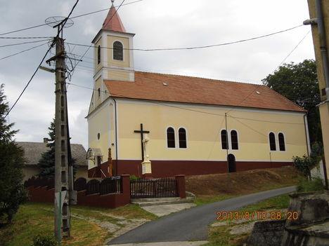 Szent István templom Nagybakónak