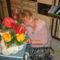 Cicamica virágai 2012-13 4  én a névnapi virágcsokrommal