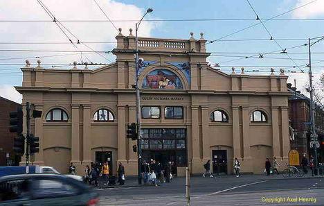 Queen Victoria Market épülete