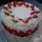 Túrós-eper torta