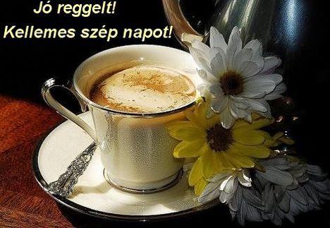 Szép napot kívánok mindenkinek!!! Hoztam egy kis kavet!