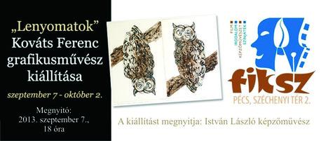 kiállítás-meghívó FIKSZ