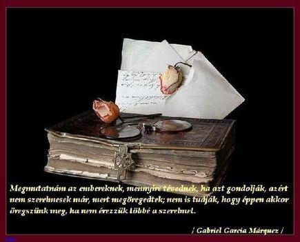 Gabriel Garcia Márquez, idézet