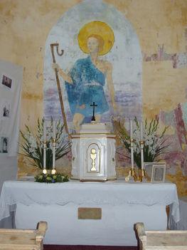régi oltár