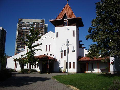 Békásmegyeri református templom.