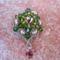 barack -zöld medál