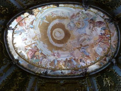 Weltenburg-mennyezet freskó