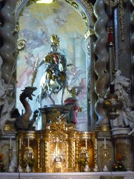 Weltenburg-Szt.György szobor