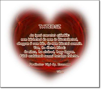 Az igazi szeretet
