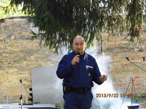 Rendőrségi előadás