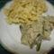 Pulyka sztroganov. lepke tésztával