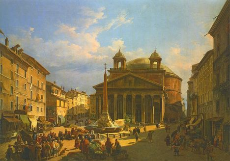Faure_Jean_Victor_Louis - The_Pantheon_Rome