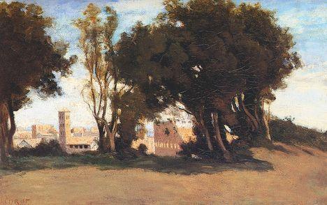 J_B_C_Corot - Le_Colisee_vu_des_jardins_Farnese