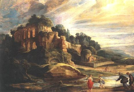 P_P_Rubens - Landscape_with_the_ruins_of_mount_Palatine_in_rome
