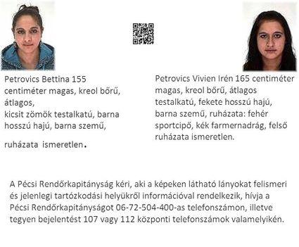 Petrovics Bettina, Petrovics Vivien Irén Pécs