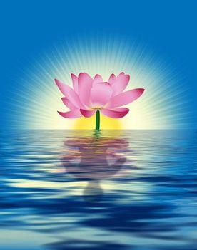 Spirit Lotus Flower.