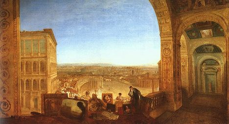 W_Turner - rome_from_the_vatican
