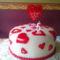 Meggyes turó torta