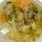 Zoldség leves , májgaluskával