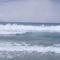 Hullámzás, jóformán szél nélkül, Sarti Beach