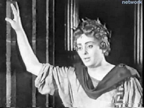 Komlóssy Erzsébet - Orfeusz szerepében.
