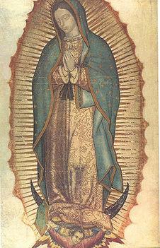 A Guadalupei Miasszonyunk ikon, Mexikó jelképe.