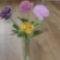 egy váza rózsa