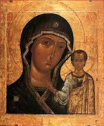 A Kazáni ikon 16. századi másolata