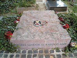 Weöres Sándor sírja